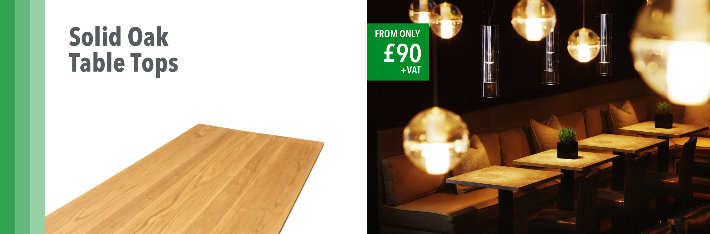 Solid Oak Table Tops